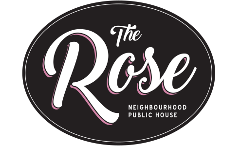 the rose pub logo